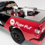 Toyota Tundra Pie Pro - a Pizza Making Robotic Vehicle
