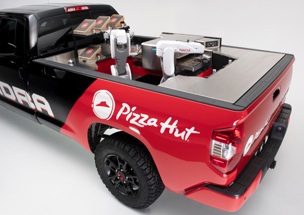 Toyota Tundra Pie Pro Makes its Own Pizza
