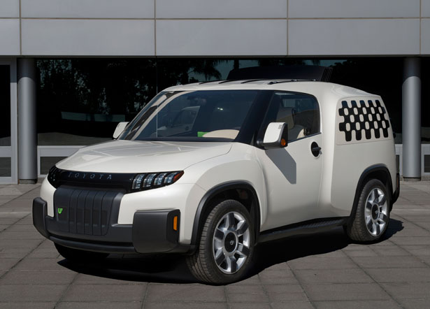 Toyota U2 Urban Utility Concept Vehicle for Urban Areas