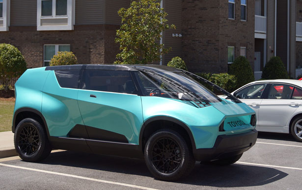 Toyota uBox Urban Utility Vehicle for Generation Z In The Year of 2020
