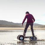 TRACK1 Off-Road eBoard with Continuous Track Can Beat Various Terrains
