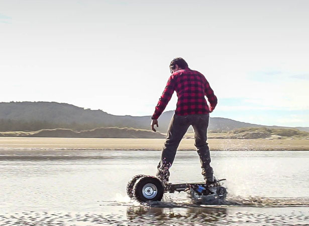 TRACK1 Off-Road eBoard by Flux Design Co.
