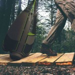 Trailpod All-Terrain Holdall Moves Easily on Rough Terrain