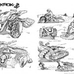 TrakRok ATV Trike by Alexei Mikhailov Is Powered by Hydrogen Fuel Cell Technology