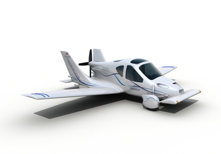 Light Aircraft on Transition Light Sport Aircraft With Foldable Wings   Tuvie
