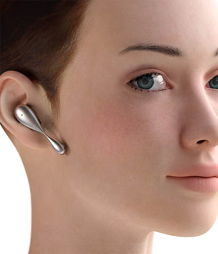 transparent fragility bluetooth headset