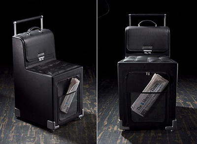 Travelling Suitcase Concept