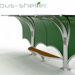 Modern Tree Bus Shelter by Nicola D'Alessandro