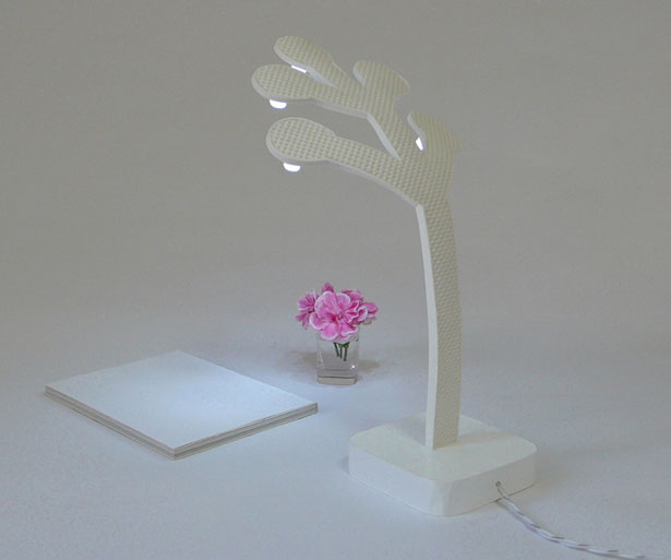 Tree of Life LED Desk Lamp by Victor Vetterlein