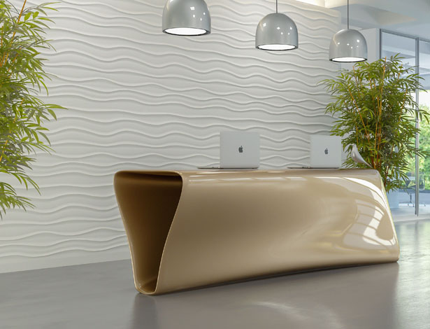 Tregola Reception Desk by Nuvist