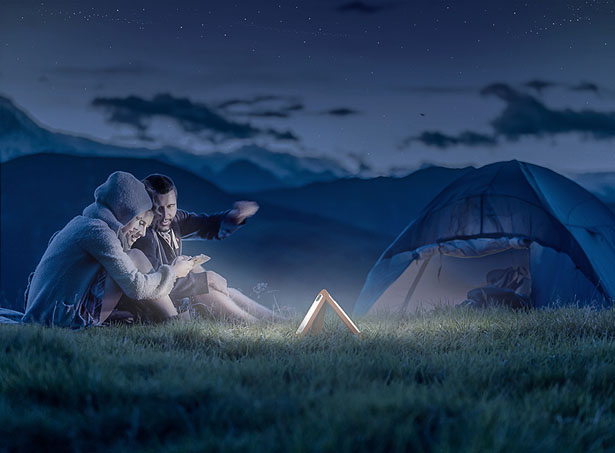 Tri-Lamp Multifunctional Flashlight by Altplus Design