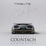 Redesigned Lamborghini Countach EV as Tribute to Marcello Gandini