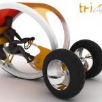 Triclo : Innovative Tricycle Concept for Urban Environment
