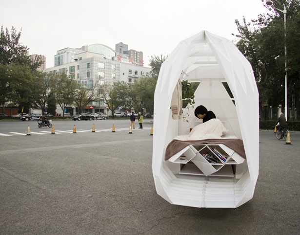 Tricycle House and Tricycle Garden by People's Architecture Office (PAO) and People's Industrial Design Office (PIDO)