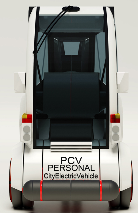 trigon personal electric vehicle