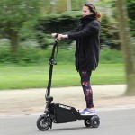 Trikelet Compact Foldable Electric Scooter Fits Luggage Compartment of A Train
