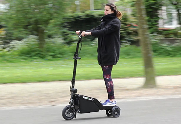 Trikelet Compact Foldable Electric Scooter
