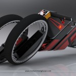 Futuristic TriMove Motorbike by Mohammad Ghezel