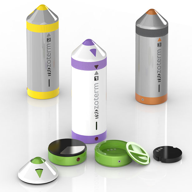 TRIzoterm Isothermal Bottle by Patrick Weingartner