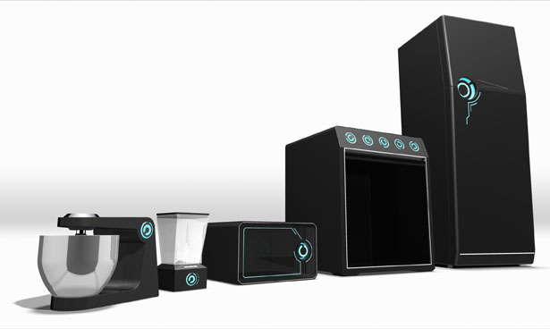 Tron-Style Appliances by Wagner Conz