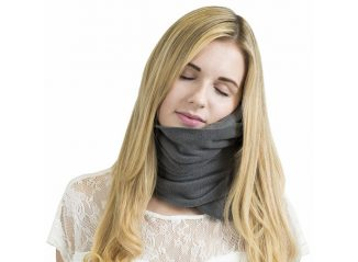 Trtl Pillow: Super Soft Neck Support Travel Pillow Makes You Feel Snug and Secure