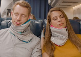 Trtl Travel Pillow Plus Is Definitely Not Your Conventional Neck Pillow