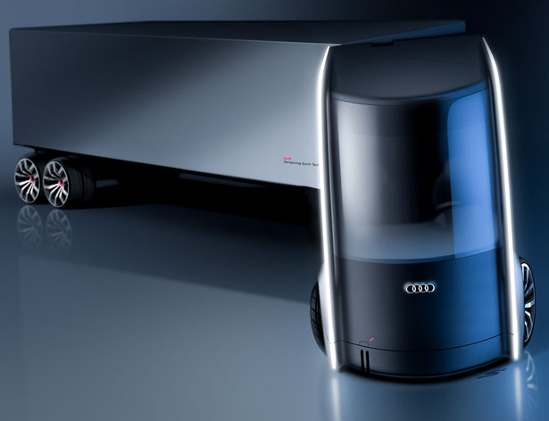 Truck Designs for AUDI by Artem Smirnov and Vladimir Panchenko - Truck A