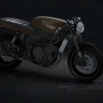 Stefan Toth Has Made An Attempt to Redesign YAMAHA TRX850 Motorcycle