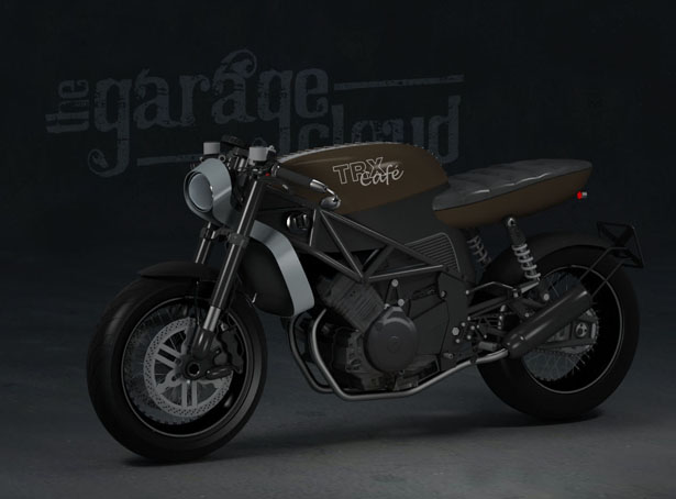 YAMAHA TRX850 Motorcycle Redesigns by Stefan Toth