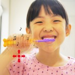 Ttone Interaction Toothbrush Plays Music as Your Children Brushing Their Teeth