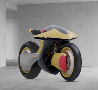 """Limited Edition TTT Electric Motorcycle Concept Was Inspired by """"The Akira Bike Slide"""""""