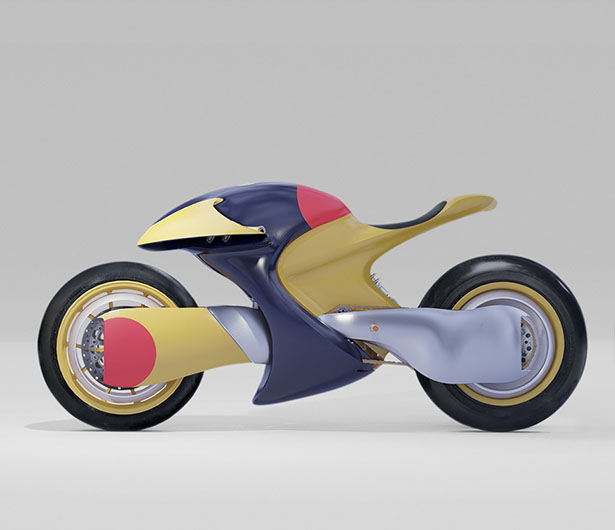 Limited Edition Ttt Electric Motorcycle Concept Was Inspired By The Akira Bike Slide Tuvie