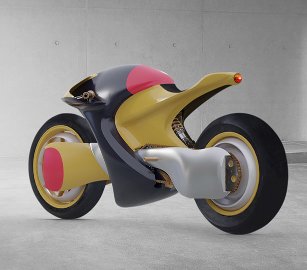 TTT Electric Motorcycle by Fenton Robathan of FeralGods