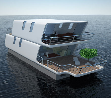 Boat Living : tubiQ is A Modular Concept That Combines A Boat and A ...