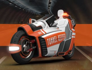 Tunnel Keeper – High-Mobility Fire Rescue Vehicle Specially Designed for Firefighting in A Tunnel