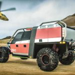 TUR Vehicle Concept for a Fire Department by 2Sympleks