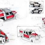 TUR Vehicle Concept for a Fire Department by 2Symleks