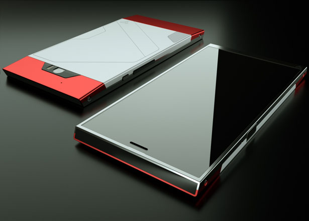 Turing Phone Liquid Metal Phone by Turing Robotic Industries