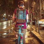 Turn Signal Commuter Backpack Alerts Other Drivers about Your Direction