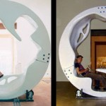 TurnOn, Multifunctional Rotating Furniture