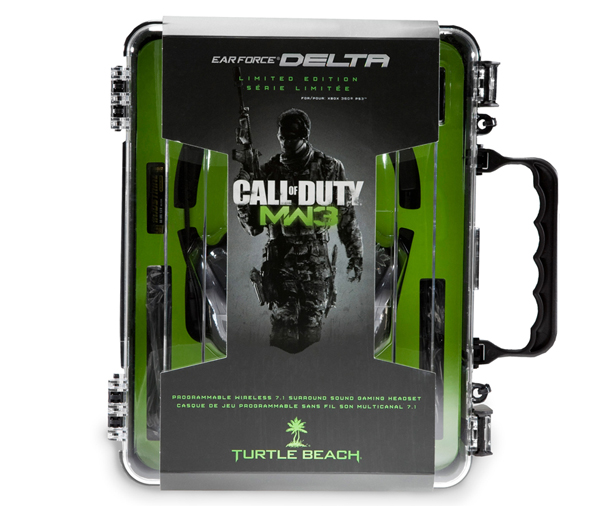 Turtle Beach Call of Duty MW3 Ear Force Delta Headset