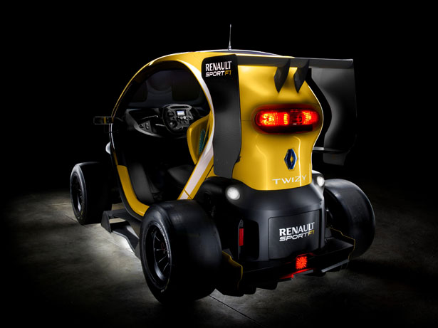 Compact Twizy Renault Sport F1 Concept Car With KERS Technology
