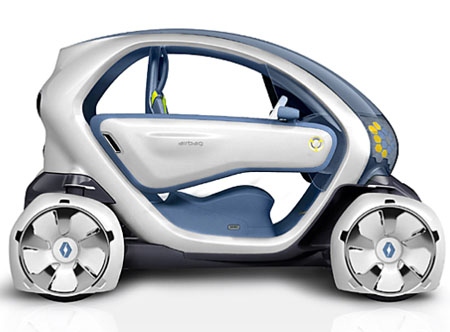 renault twizy z.e electric car concept