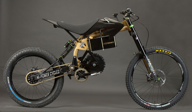 Typhoon Pro Electric Bike by Hi-Power Cycles
