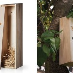 Tyto Alba Wine Features Creative Packaging Design That Transforms Into A Bird House