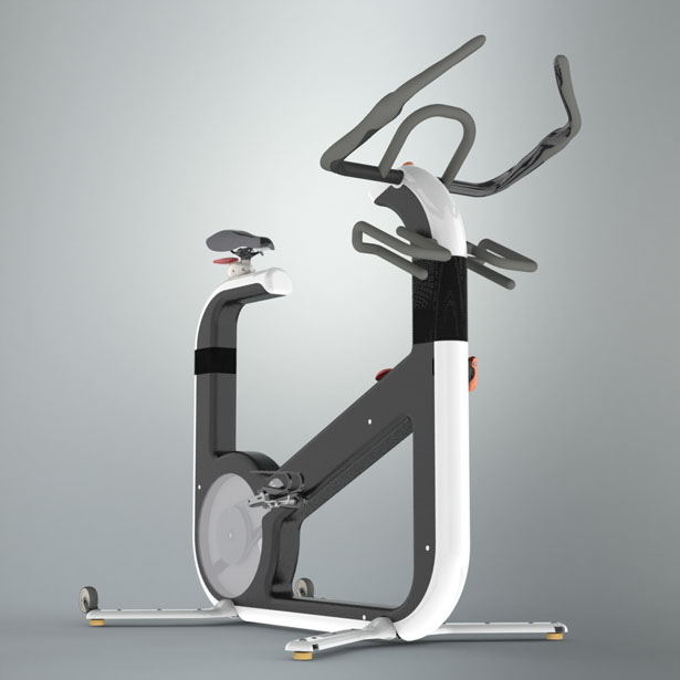 U'Bike Exercise Bike by Gregório Rodrigues and João Montenegro