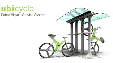 ubicycle public bicycle service system