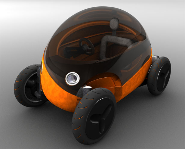 μcar Electric Vehicle Typology by Lino Vital García-Verdugo