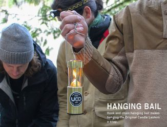 UCO Original Collapsible Candle Lantern Keeps Your Tent Warm Safely