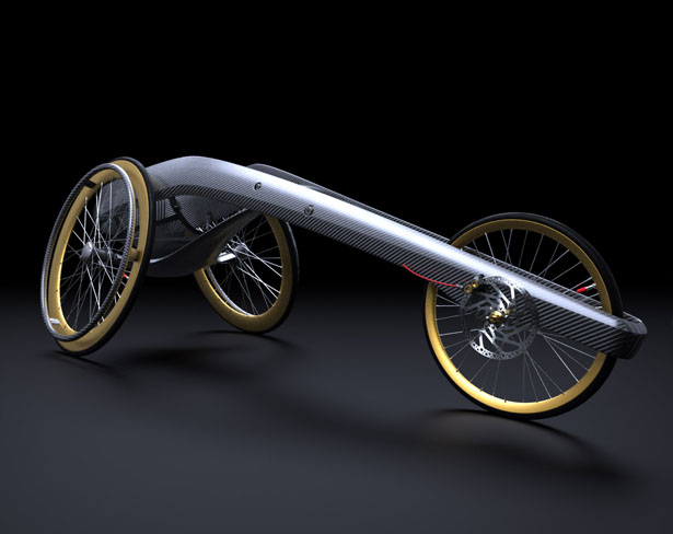 Ultra Long Distance Wheelchair by Andrew Mitchell